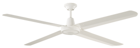 Ceiling Fan - 142cm 56in 79W White 3 Speed