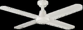 Fan - 132cm 52in 53W White 3 Speed