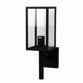 Outdoor Wall Light - 40W E27 IP54 385mm Black