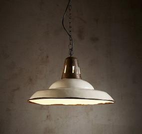 Pendant Light - E27 540mm Rustic White