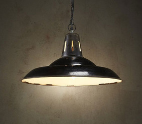Pendant Light - E27 540mm Rustic Black