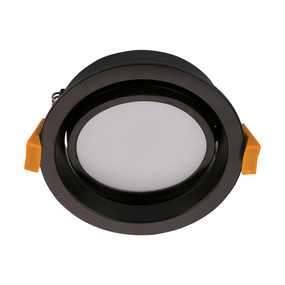 Gimble Downlight - Dimmable 13W 900lm IP44 Tri-Colour 110mm Matte Black