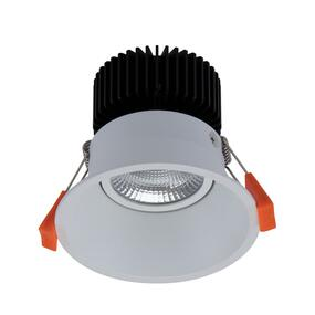 LED Downlight - Dimmable 13W 1120lm IP40 5000K 100mm White