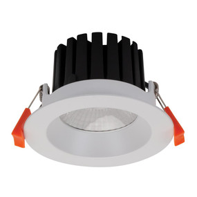 LED Downlight - Dimmable 13W 1130lm IP65 3000K 110mm Satin White