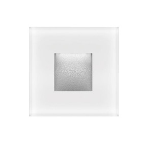 Wall Light - 2W 70lm IP65 3000K 80mm White
