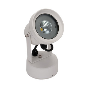 LED Spotlight - 12W 1000lm IP54 3000K 218mm White
