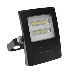 Marine Grade Vandal Resistant Flood Light - 10W 910lm IP66 IK08 5000K 113mm Black