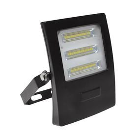 Marine Grade Vandal Resistant Flood Light - 20W 1900lm IP66 IK08 5000K 138mm Black
