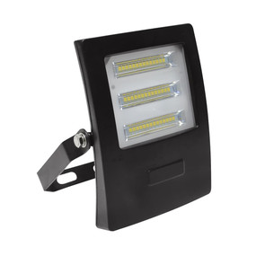 Marine Grade Vandal Resistant Flood Light - 20W 1800lm IP66 IK08 3000K 138mm Black