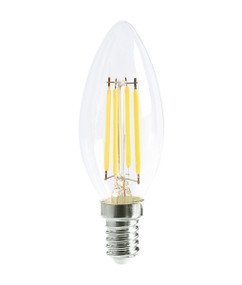 E14 LED Filament Globe - 4W 400lm IP20 6000K 98mm Clear Dimmable