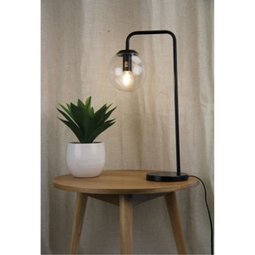 Table Lamp - 28W E27 500mm Matte Black
