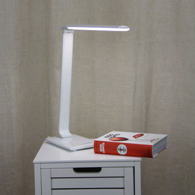 Desk Touch Lamp - 9W 500lm Tri Colour 550mm White