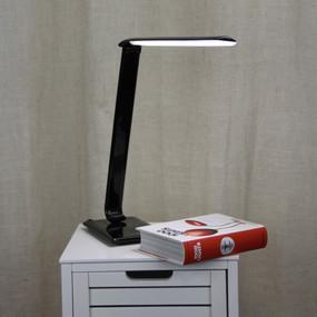 Desk Touch Lamp - 9W 500lm Tri Colour 550mm Black