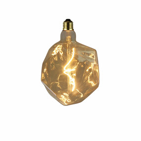 E27 LED Filament Globe - 4W 270lm E27 2200K 320mm Amber Dimmable