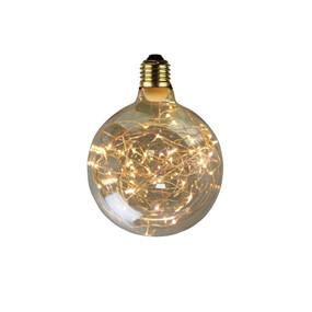 E27 LED Filament Globe - 2W 100lm E27 2700K 160mm Amber Dimmable