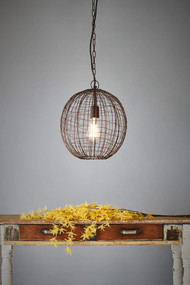 Pendant Light - E27 320mm Antique Copper