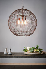 Pendant Light - E27 750mm Antique Copper
