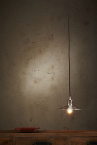 Pendant Light - E27 250mm Antique Silver FRB