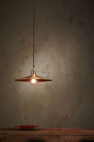 Pendant Light - E27 370mm Antique Copper FRB