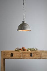 Pendant Light - E27 350mm Vintage Grey