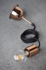 Suspension Light - E27 60mm Metallic Copper