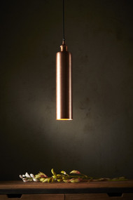 Pendant Light - E27 100mm Antique Copper