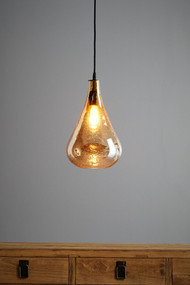 Pendant Light - E27 220mm Pale Gold