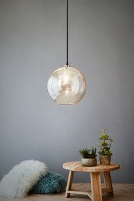 Pendant Light - E27 300mm Clear