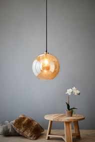Pendant Light - E27 300mm Pale Gold