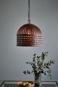 Pendant Light - E27 450mm Antique Rust