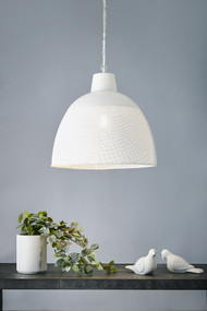 Pendant Light - E27 600mm Matte White