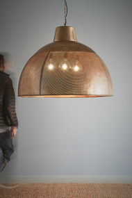 Pendant Light - E27 1100mm Antique Brass