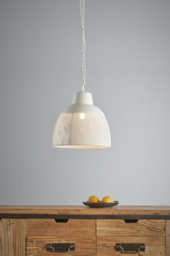 Pendant Light - E27 340mm Matte White