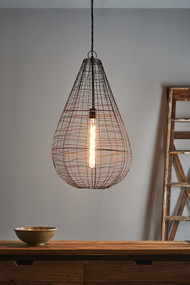 Pendant Light - E27 450mm Antique Copper CR1