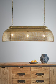 Pendant Light - E27 1150mm Antique Brass