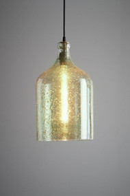 Pendant Light - E27 250mm Pale Green