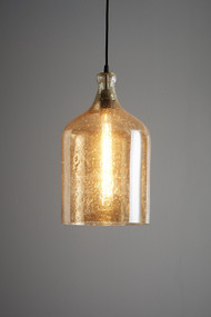 Pendant Light - E27 250mm Pale Gold