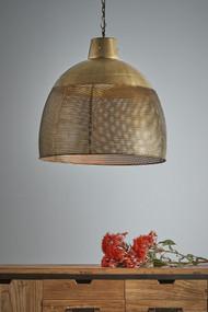 Pendant Light - E27 600mm Antique Brass RVL