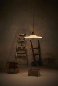 Pendant Light - E27 700mm Rustic White