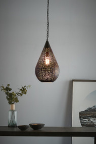 Pendant Light - E27 300mm Matte Black