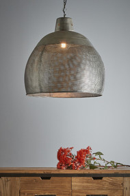 Pendant Light - E27 600mm Antique Metallic RVL
