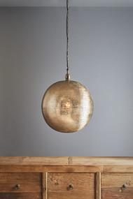 Pendant Light - E27 500mm Metallic Nickel