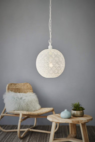 Pendant Light - E27 300mm Matte White