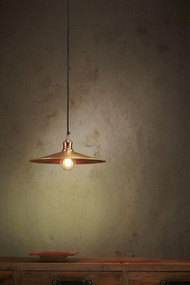 Pendant Light - E27 370mm Antique Copper