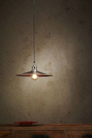 Pendant Light - E27 250mm Antique Silver