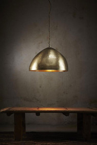 Pendant Light - E27 600mm Antique Brass