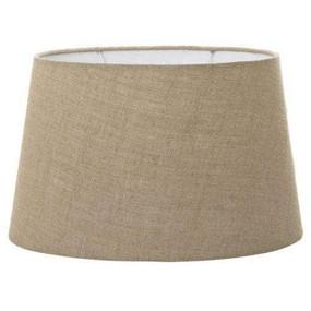 Lamp Shade - (20x12)x(16x10)x12 Dark Natural Linen