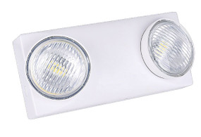 Emergency Wall Light - Industrial Strength IP20 400lm LED Non-Maintained 2 Hours