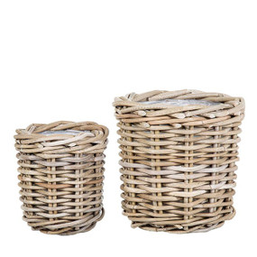 Baskets - Set of Two Natural