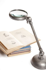 Magnifying Glass - Antique Silver